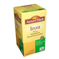 Fer-Iron - 65 mg 300 tablettes-65 mg