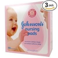 Johnson's Nursing Pads 180 pads au total pendant l'Allaitement