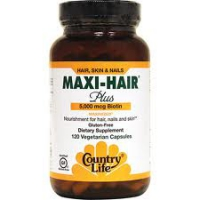 MAXI HAIR COUNTRY LIFE - BIOTINE - 120 CAPS