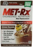MEAL REPLACEMENT EXTREM 18 Sachets de 72  gr avec 39 gr de proteines