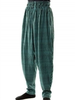 MUSCLE PANTS JADE RAYURES  TAILLE S-M=L-XL