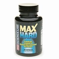 MAX HARD ERECTION  30 caps