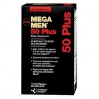 MEGA MEN HOMMES 50 ANS + 120  CAPS