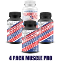 PACK VIP  PRO MUSCLE 4 PRODUITS