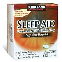 SLEEP AID  25 MG, 192-Count -AIDE A DORMIR