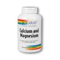 Solaray - Calcium and Magnesium, 180 capsules