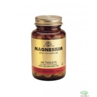 Solgar Magnésium avec Vitamines B6 250 Tablettes