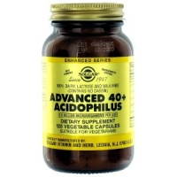 Solgar - Advanced 40+ Acidophilus, 1.5 bil, 120 veggie caps