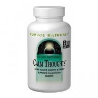 Source Naturals Calm Thoughts (90 comprimés) - Traitement nature