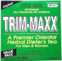 TRIM-MAXX 70 SACHETS DE THE MINCEUR