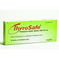 THYROSAFE POTASSIUM IODIDE TABLETS, 65 MG, 20-COUNT  (THYROSAFE)