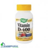 Vitamine D400 100 caps