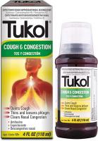 TOUX TUKOL ET CONGESTION 120 ML