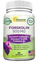 100% PURE FORSKOLINE 500 MG - 180 CAPS