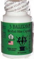 3 BALLERINA THE 30  CAPSULES