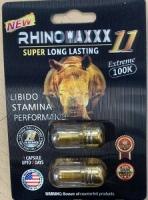 RHINO MAXX11 4 PILULES