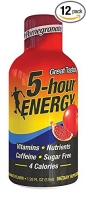 5 HOUR ENERGY- PACK DE 12