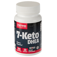 7-KETO DHEA 100 MG - 30 CAPS - JARROW