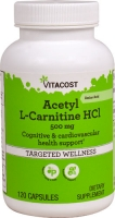 ACETYL L-CARNITINE HCl-500MG- 120 CAPSULES