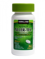 ALLER-TEC 10 MG   365 CAPS ( ALLERGIE)