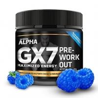 ALPHA GX-7 PRE-ENTRAINEMENT GOUT FRAMBOISE BLEU 245 GR