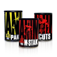ANIMAL CUTS 42 + 44 ANIMAL PAK+ M-STAK  21 PACKS