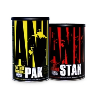 ANIMAL PAK 44 PACKS + ANIMAL STAK 21 PACKS