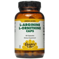 ARGININE ET ORNITHINE - 1000 MG 60 CAPS