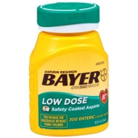 ASPIRINE REGIMEN BAYER 81MG, 300CAPS