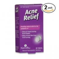 Acne Relief Natrabio - 60 capsules