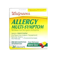 Allergies Multi-symptomes - 24 Capsules
