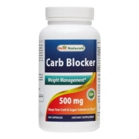 BEST NATURALS CARB BLOCKER 180 GELULES