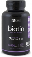 BIOTIN 5000 MCG, 120 CAPS