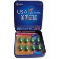 BLUE SHARK MALE PILLS 8 CAPS