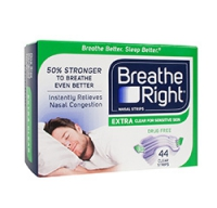 BREATHE RIGHT NASAL STRIPS  44 STRIPS