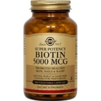 BIOTINE 5000  SOLGAR  50 CAPS