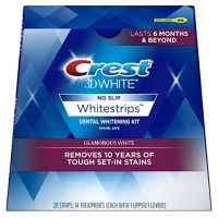 CREST 3D WHITE- 28 BANDES BLANCHISSANTES