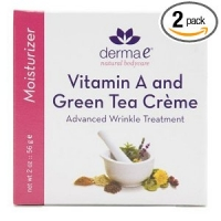 Creme de traitement antirides Vitamine A & The Vert