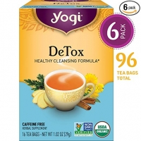 DETOX - PACK DE 6 (96 SACHETS DE THE)