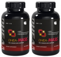 DHEA MASS  2 BOITES  100 MG   180 CAPS
