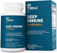 DR TOBIAS DEEP IMMUNE PROBIOTIC 60 GELULES