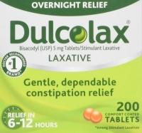 DULCOLAX  200 CAPS