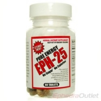 EPH-25 MG INTENSE ENERGIE 60 CAPS