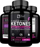 EXOGENOUS KETONES 2870MG, 120 CAPS