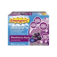 Emergen-C Immune Plus System Support with Vitamin D Blueberry Acai -- 30 Packets