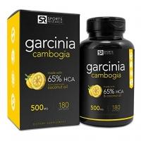 Extrait pur de Garcinia Cambogia avec 65% de HCA 180 Caps