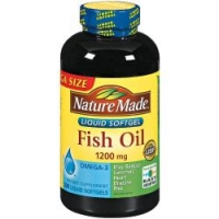 FISH OIL OMEGA-3 1200MG, 300 SOFTGEL