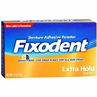FIXODENT POUDRE ADHESIVE DENTS