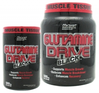 GLUTAMINE DRIVE BLACK 300 GR