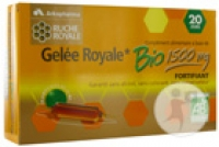 Gelée Royale Bio 1500mg 20 Ampoules 15ml